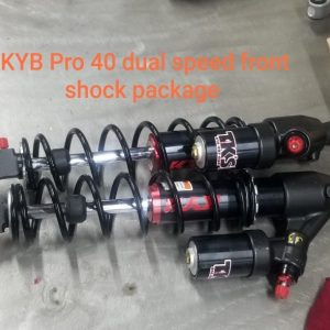 Skidoo Front KYB Pro 40 shock package Dual speed comp.