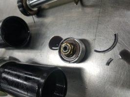 Walker Evans compression clip failure.