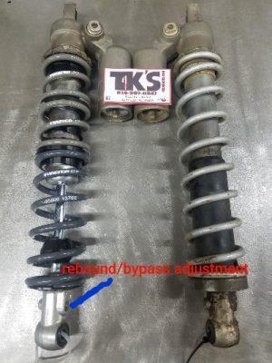 Rebound-bypass adjuster2