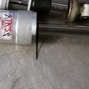 "Monotube rear main renegade 137"" aluminum."
