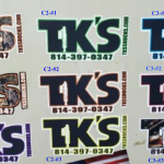 TK'S Stickers & Decals